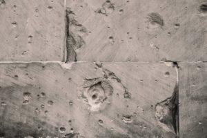עבודת ניסור עמודי בטון
