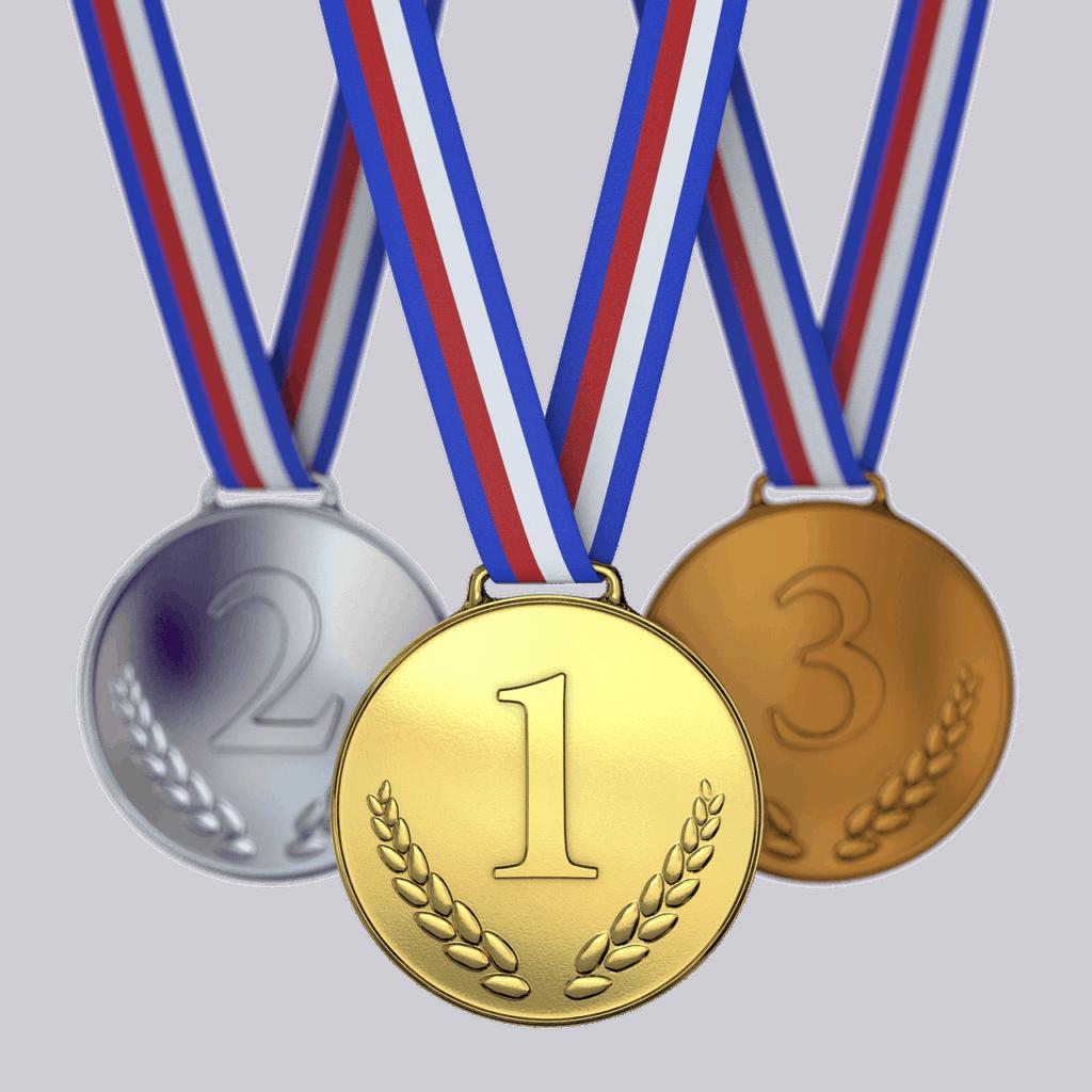 שלוש מדליות